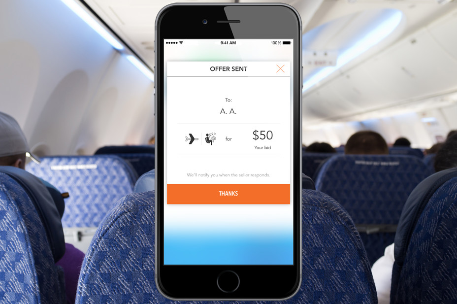 How much would you pay to be happier on your flight?