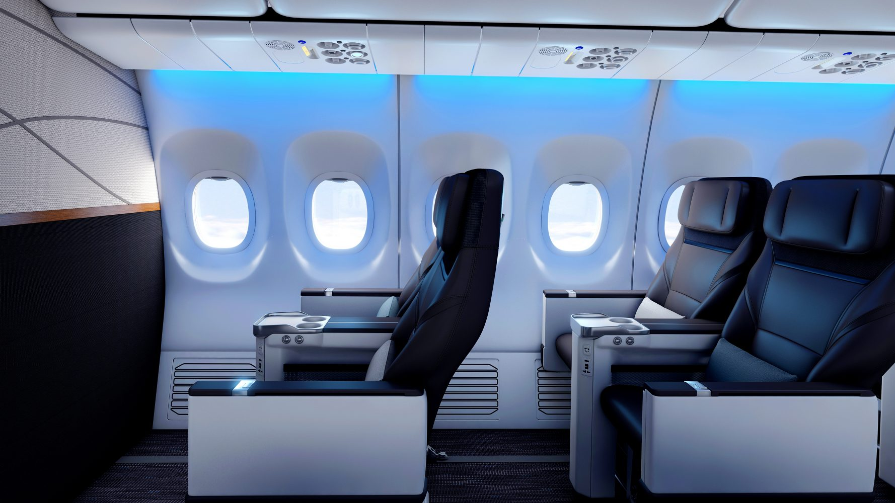 The new First Class look.