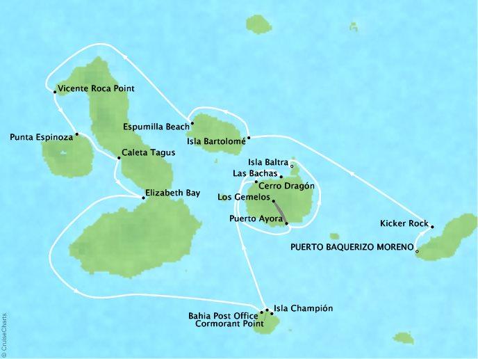 Galapagos Islands Expedition - Puerto Baquerizo Moreno, Ecuador to Baltra Island, Ecuador8 Days, December 22, 2018Aboard Silver GalapagosContact your personal travel advisor for pricing, similar itineraries, or alternate dates.