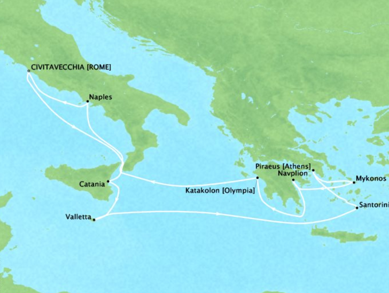 Amalfi Coast and Greek Isles - 12 DaysMultiple datesCivitavecchia, Italy to Civitavecchia, ItalyVirtuoso Voyages benefit