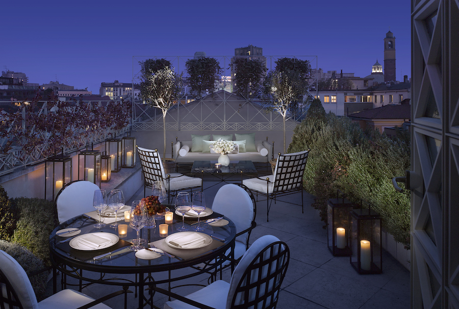Penthouse Suite Terrace, Four Seasons Hotel Milano.jpg