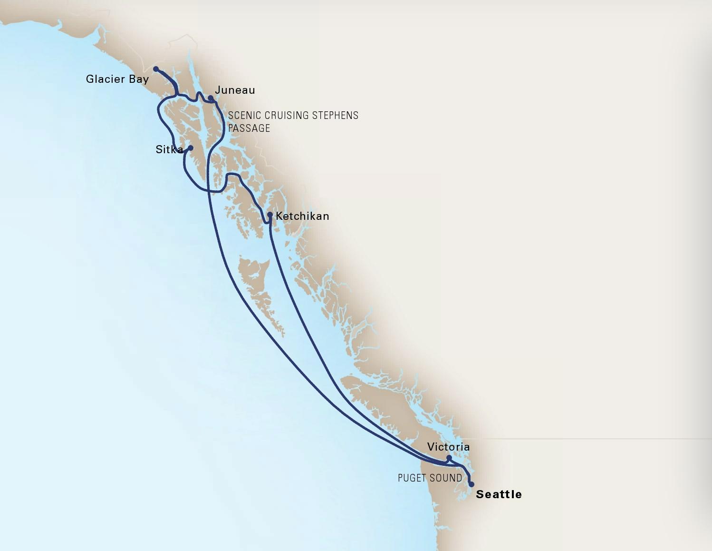 14 Day Fjords & HighlandsShip EurodamRoundtrip Seattle, WashingtonMay 2 - May 9, 2020 -