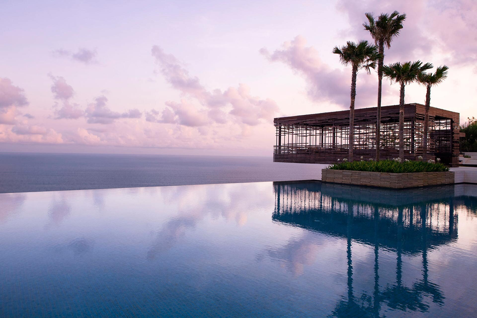 Alila Resorts - New to the Hyatt family, Alila properties combine innovative design with unique locations. Our current favorite: Alila Villas Uluwatu, Bali (pictured here).Our Perk: Enjoy a complimentary 4th night at the following Alila properties: Alila Solo, Java; Alila SCBD, Jakarta; Alila Ubud, Bali; Alila Seminyak, Bali; Alila Villas Uluwatu, Bali; Alila Bangsar, Kuala Lumpur. Enjoy a complimentary 3rd night at the following Alila properties: Alila Manggis, Bali; Alila Villas Koh Russey, Cambodia