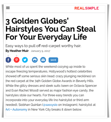 real simple Siobhan Quinlan Golden Globes hair styles.png