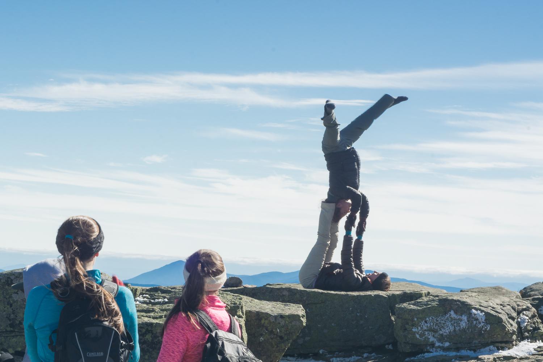 yogis on the summit