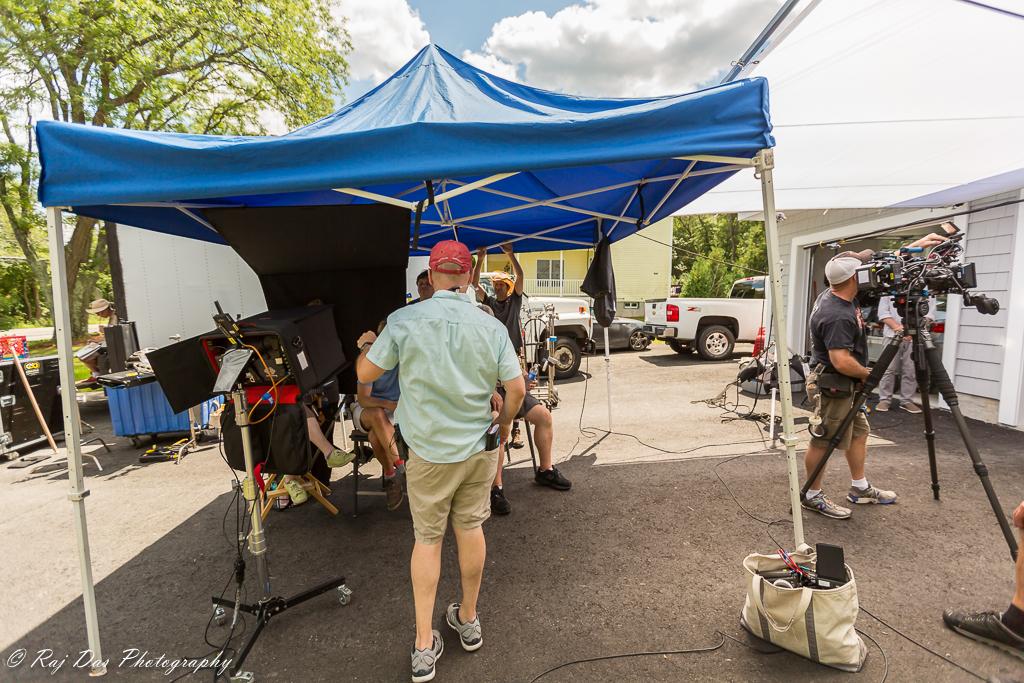 Crew behind the scenes