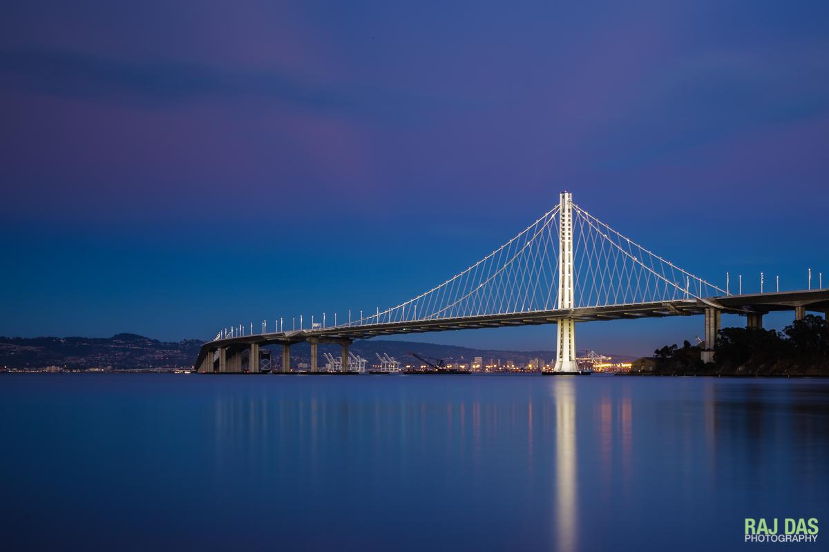 Eastern span of Bay Bridge, San Francisco