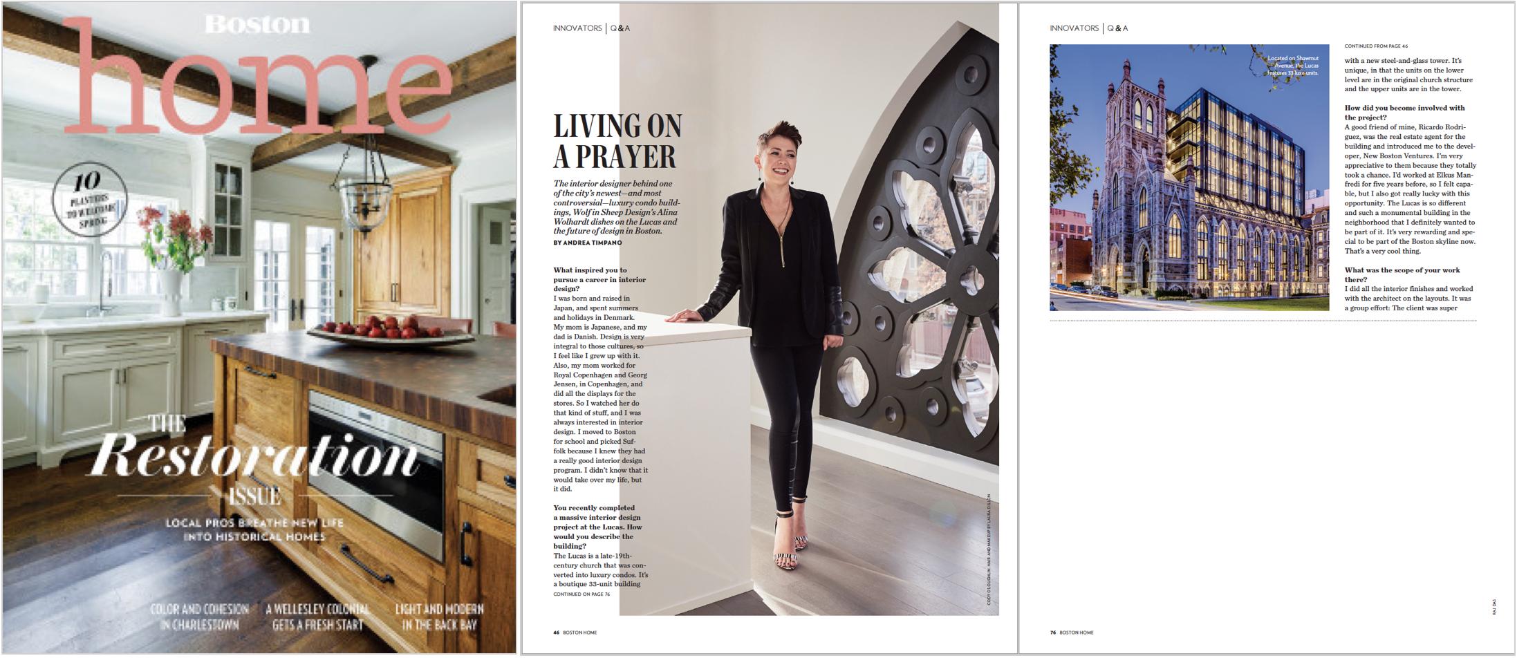 Boston Magazine Home - Spring 2018