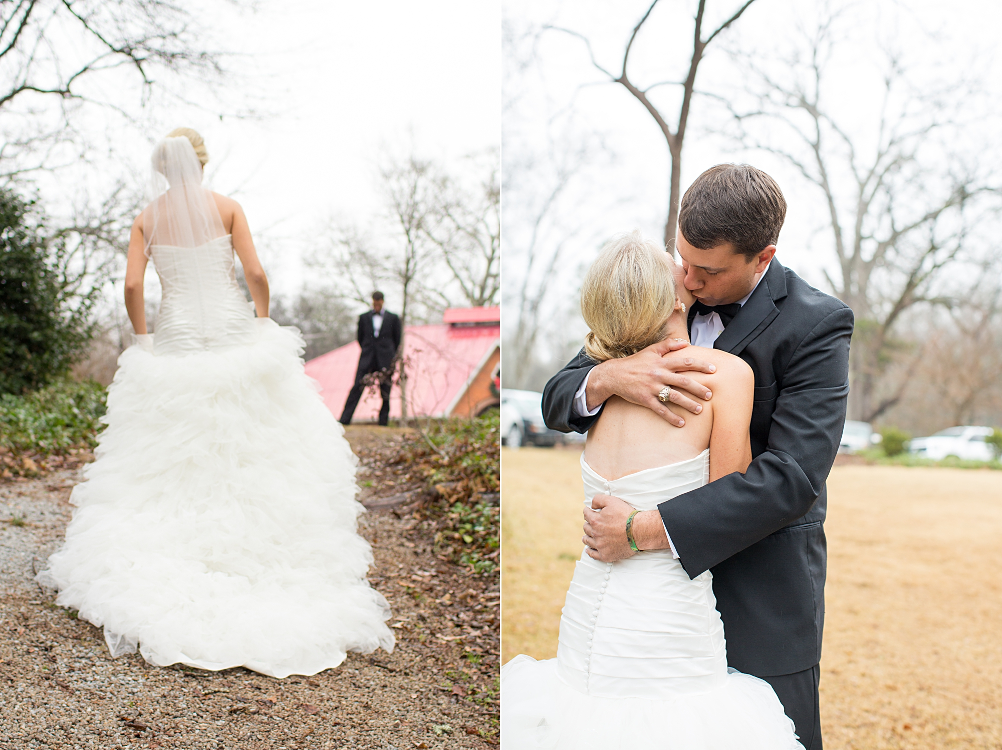 First Look_DiPrima Photography_NC Wedding Photographer