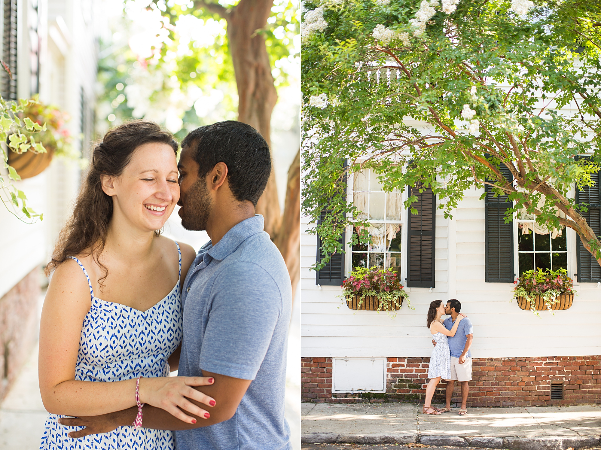 Downtown Charleston SC Engagement Pictures