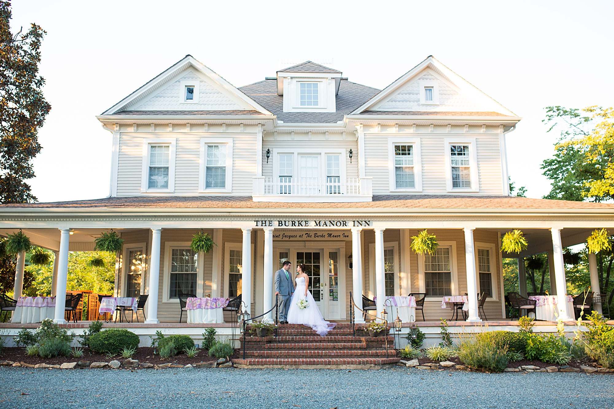 Burke Manor Inn Wedding