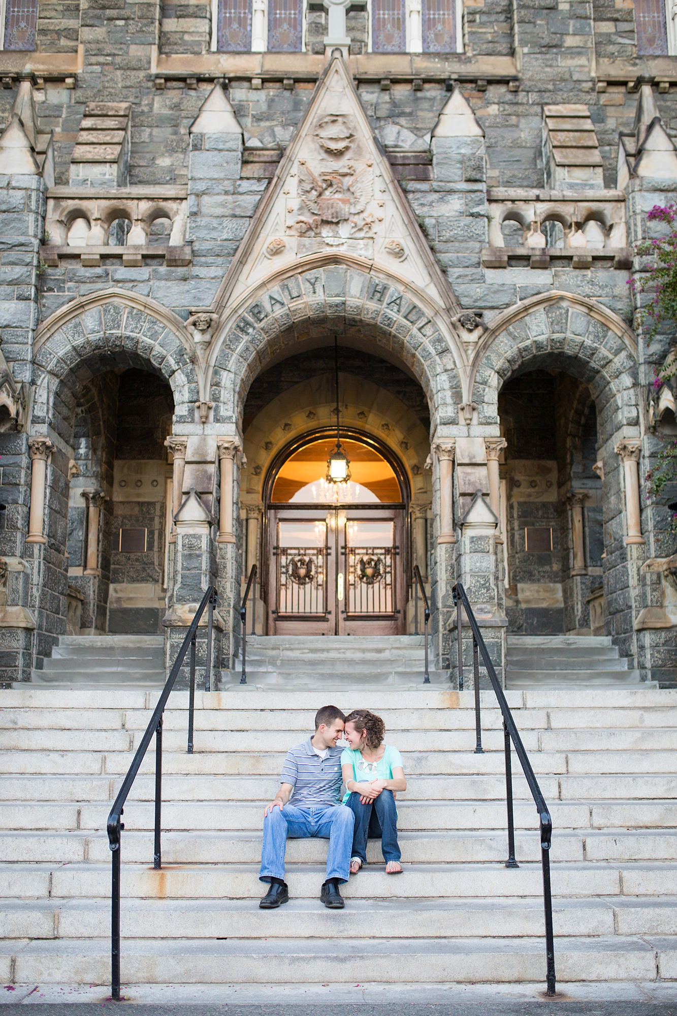 Georgetown University Engagement Pictures