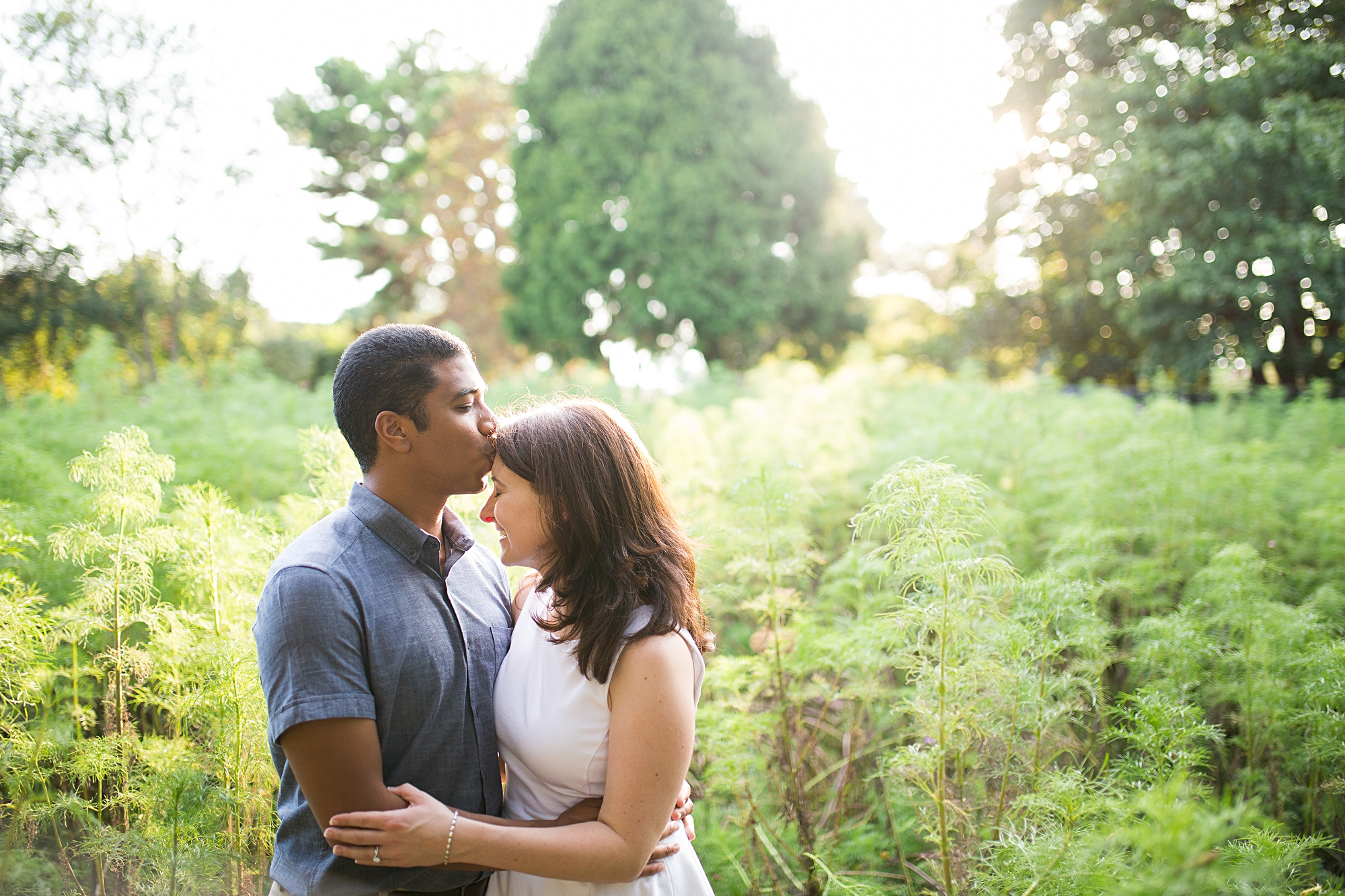 JC Raulston Arboretum Engagement Pictures
