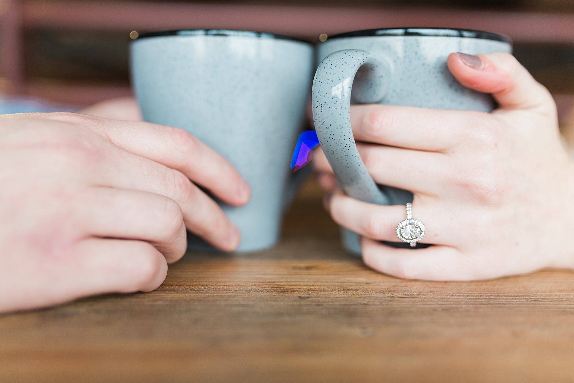 Coffee Inspired Engagement Pictures