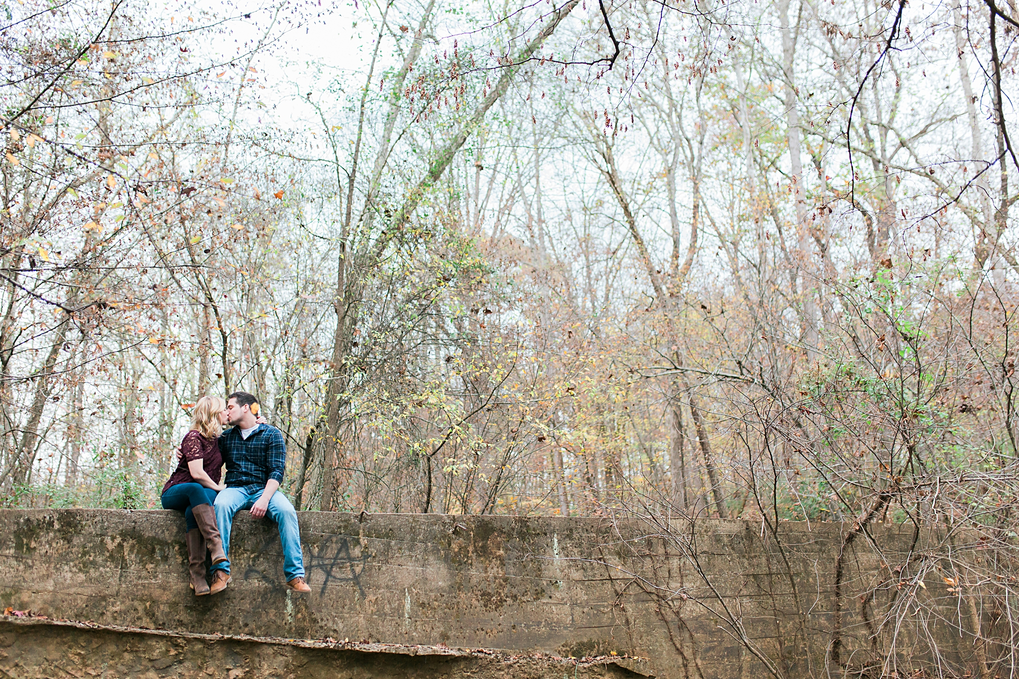Saxapahaw NC Engagement Pictures