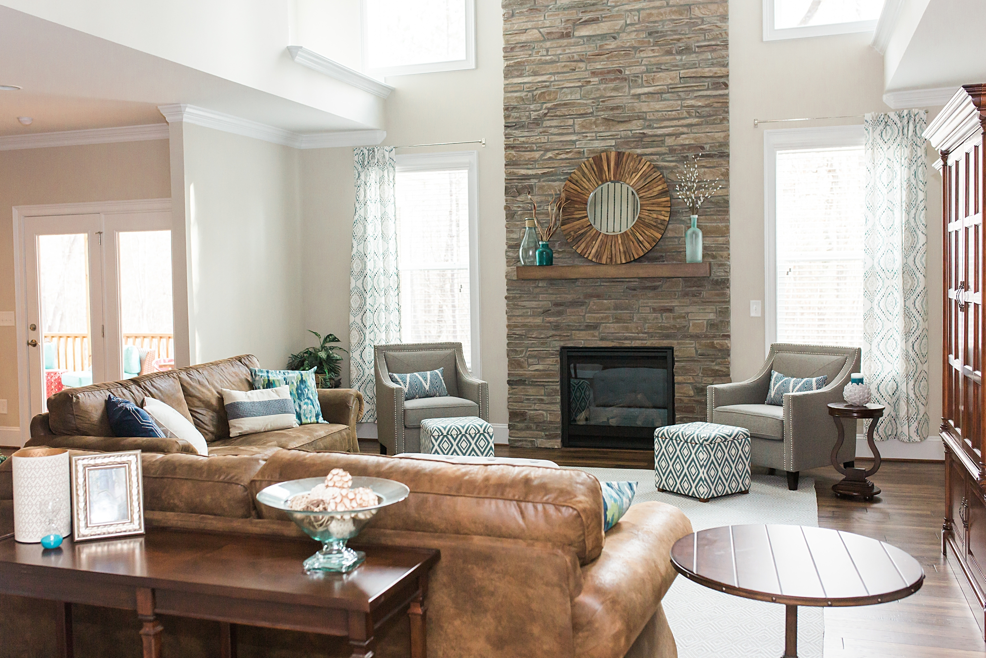 Interior Design Durham Nc.Styled Living Room Pictures For Nothing But Neutral Blog