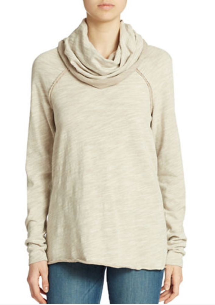 Free People Cocoon Pullover  ($68)  I don't own this sweater but I've tried it on and I've seen it recommended by several bloggers and I can vouch for the fact that it is SO comfortable! Its very lightweight and it is definitely an oversized fit so size down if you're between sizes.