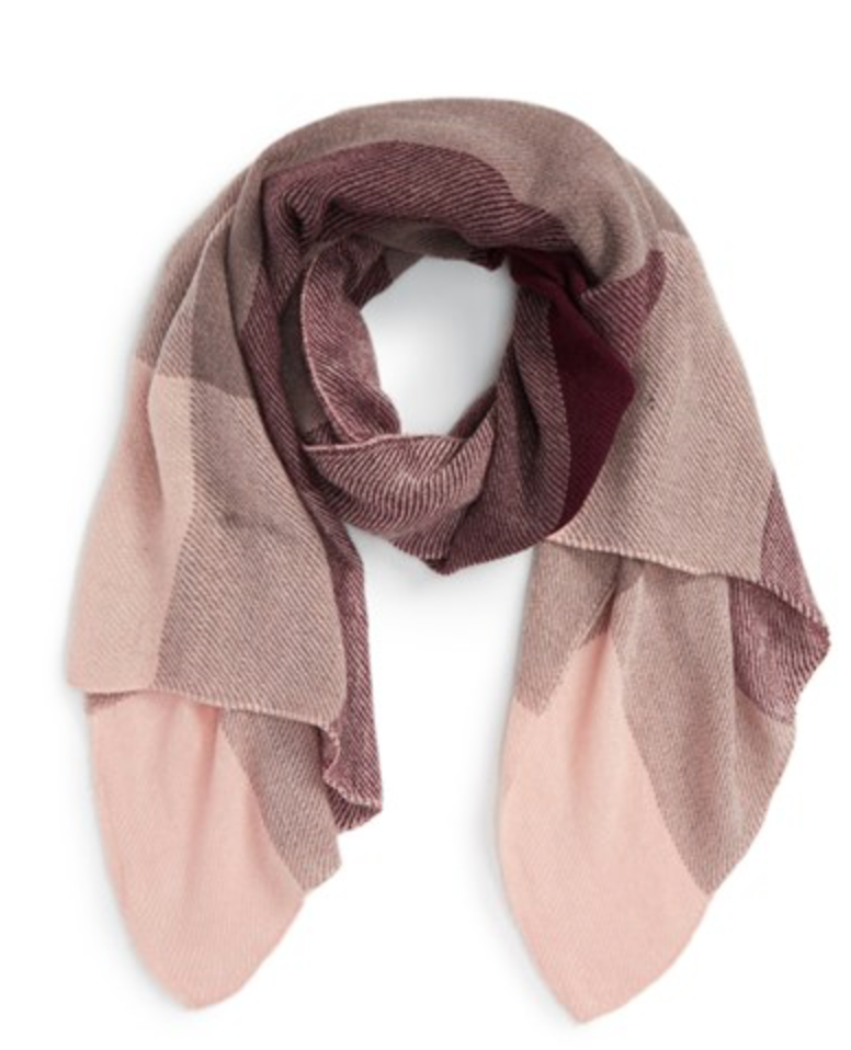 B.P. Plaid Scarf   (On sale for $12)