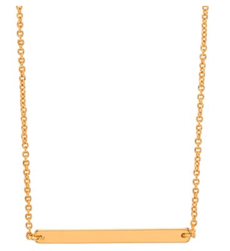 Gorjana Asher Bar Pendant Necklace   (On Sale for $37)