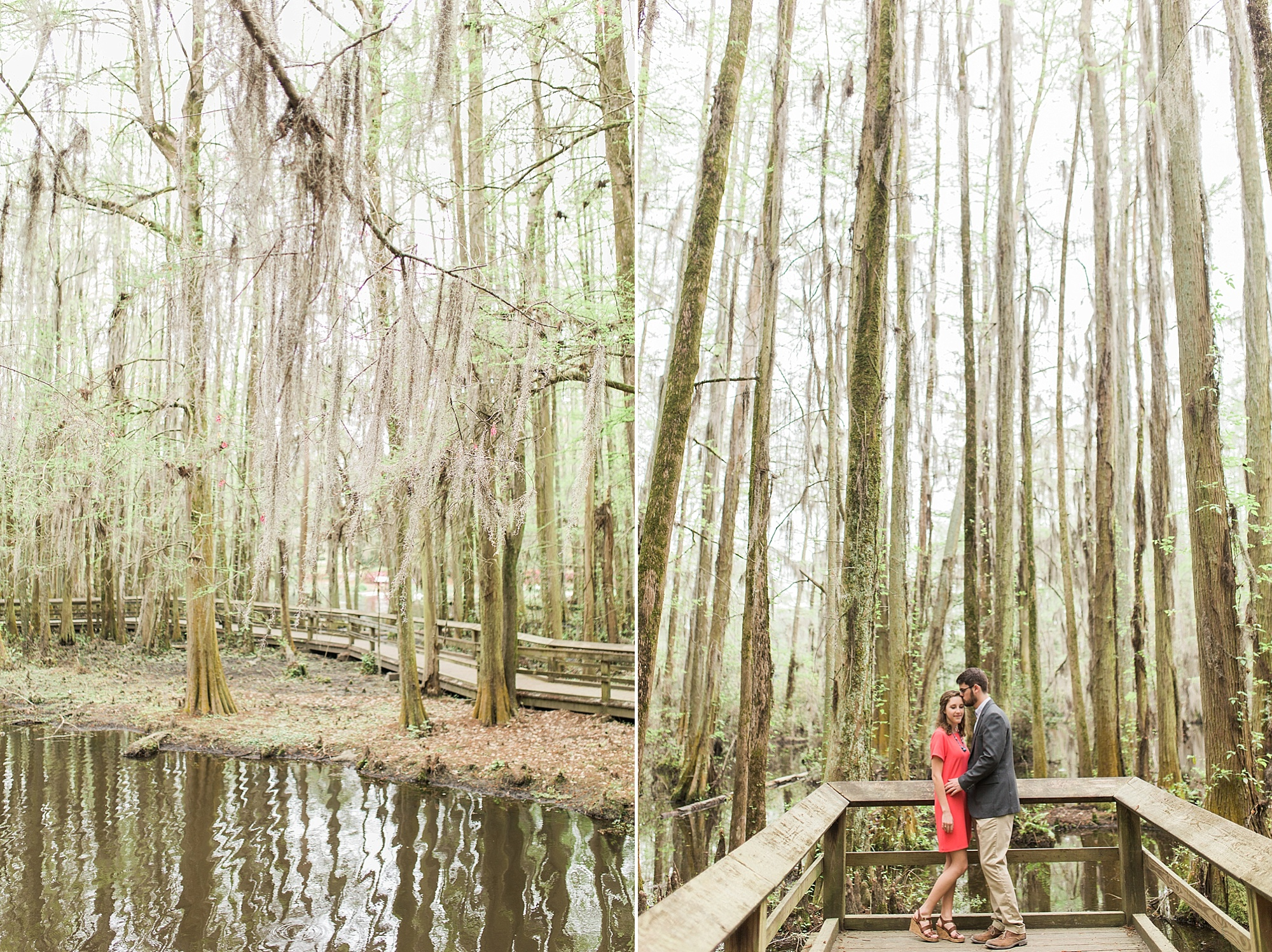 Spanish Moss Engagement Pictures