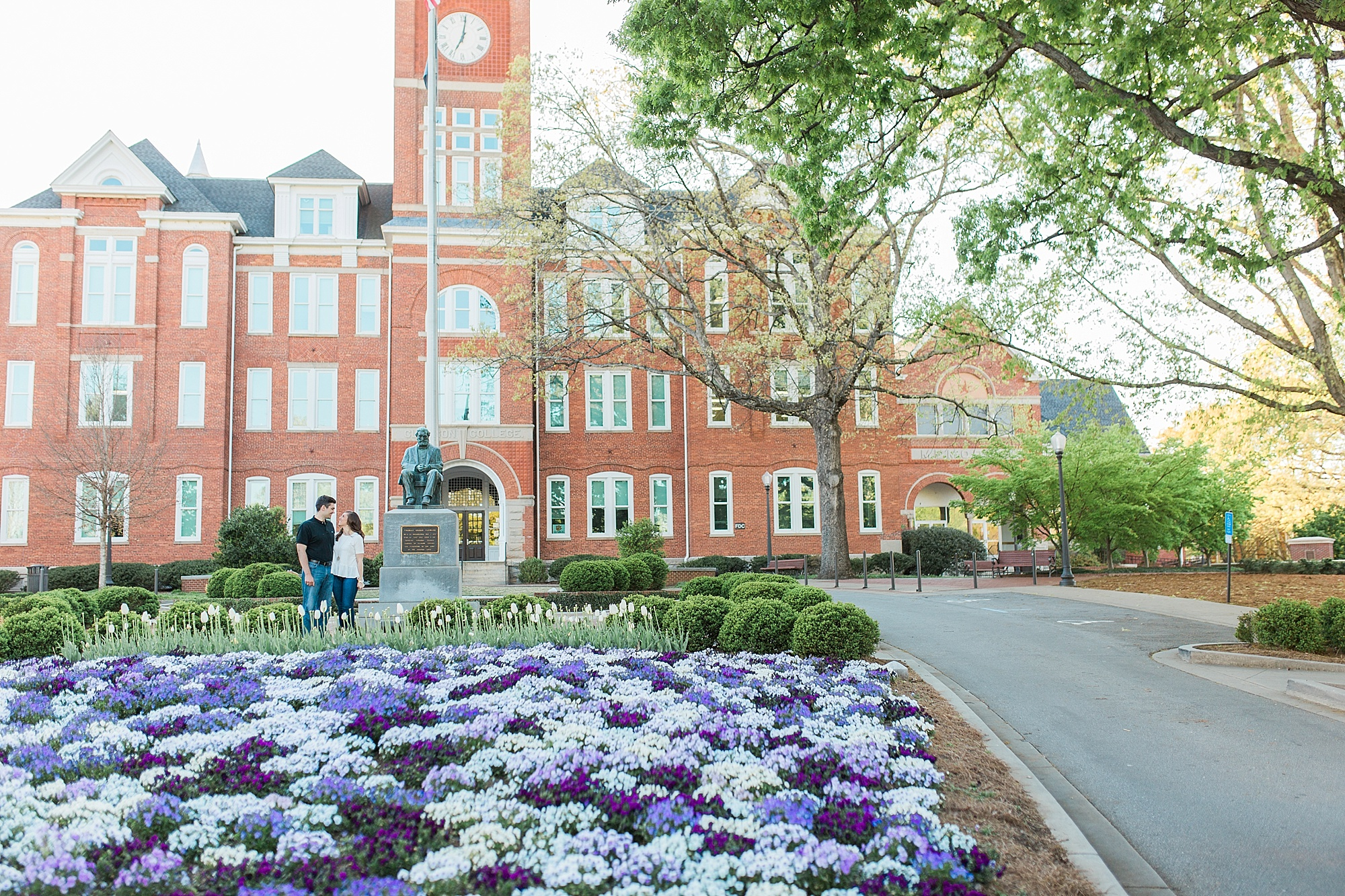 Engagement Pictures at Clemson