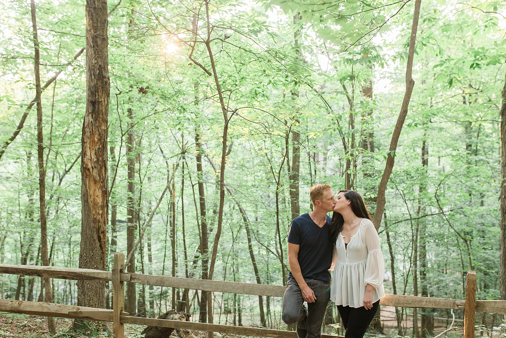 Beautiful Durham NC Engagement Pictures