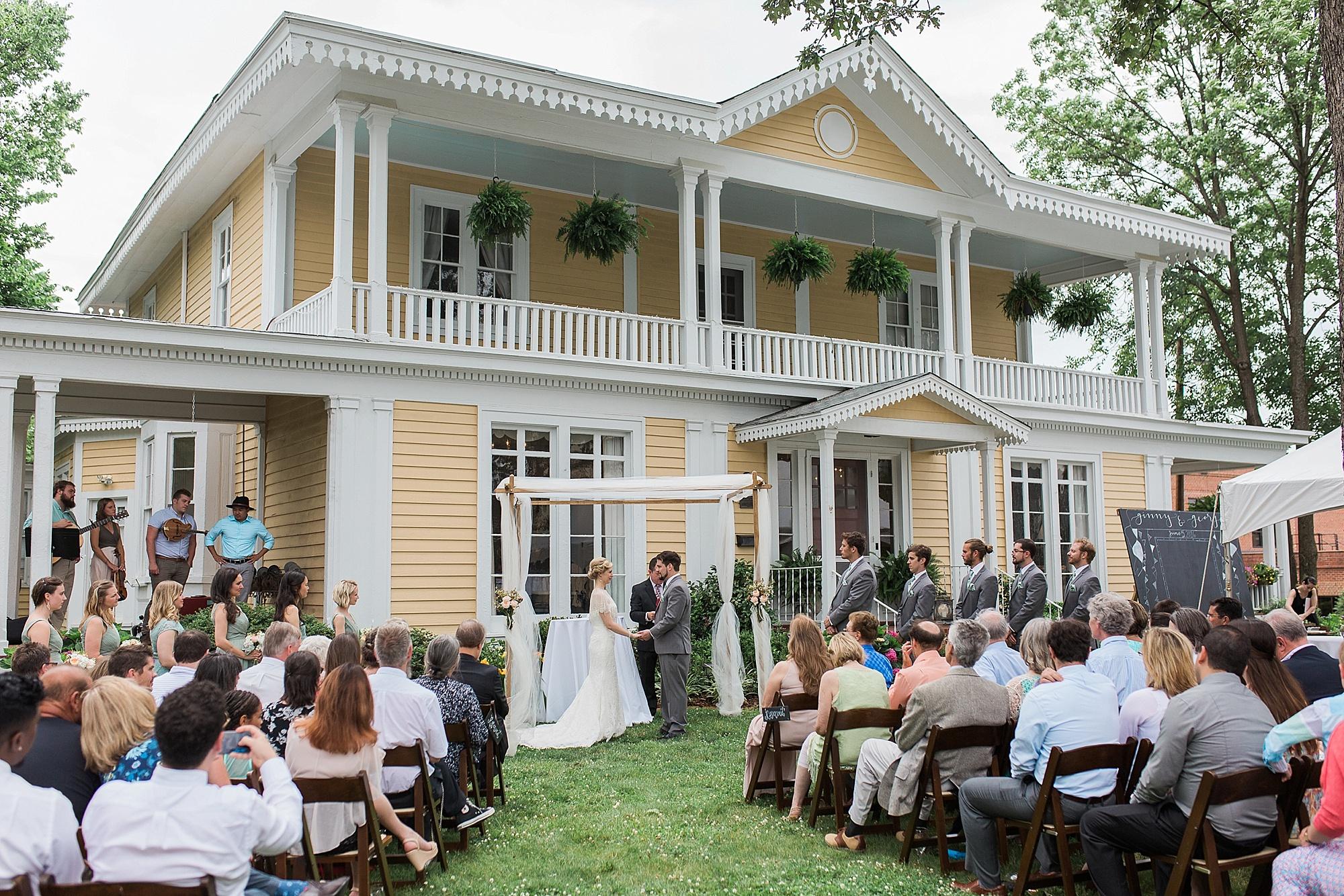Greensboro Outdoor Wedding Venue