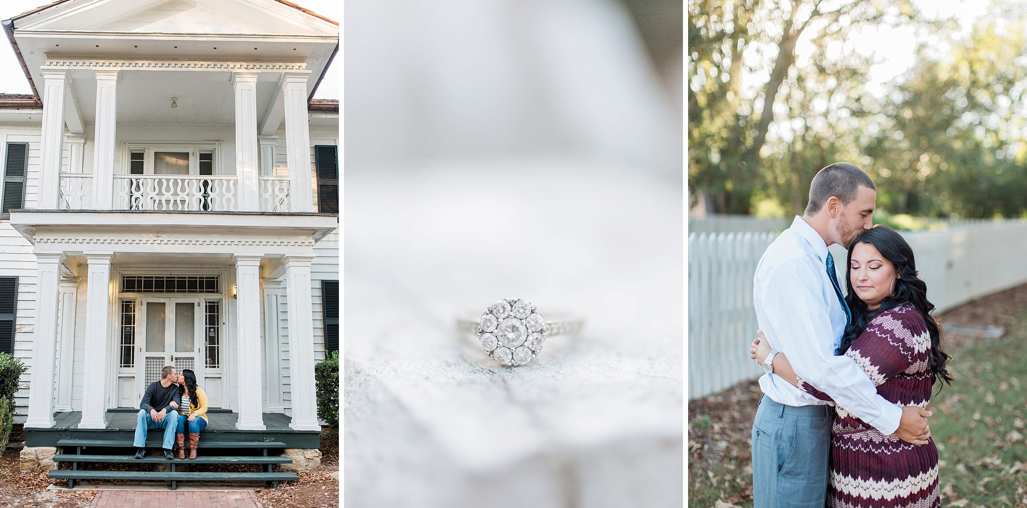 Historic Oak View Engagement Pictures