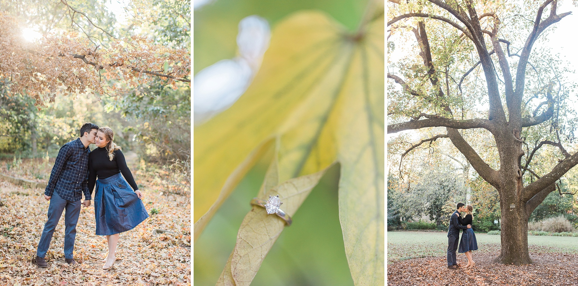 Coker Arboretum Engagement Session