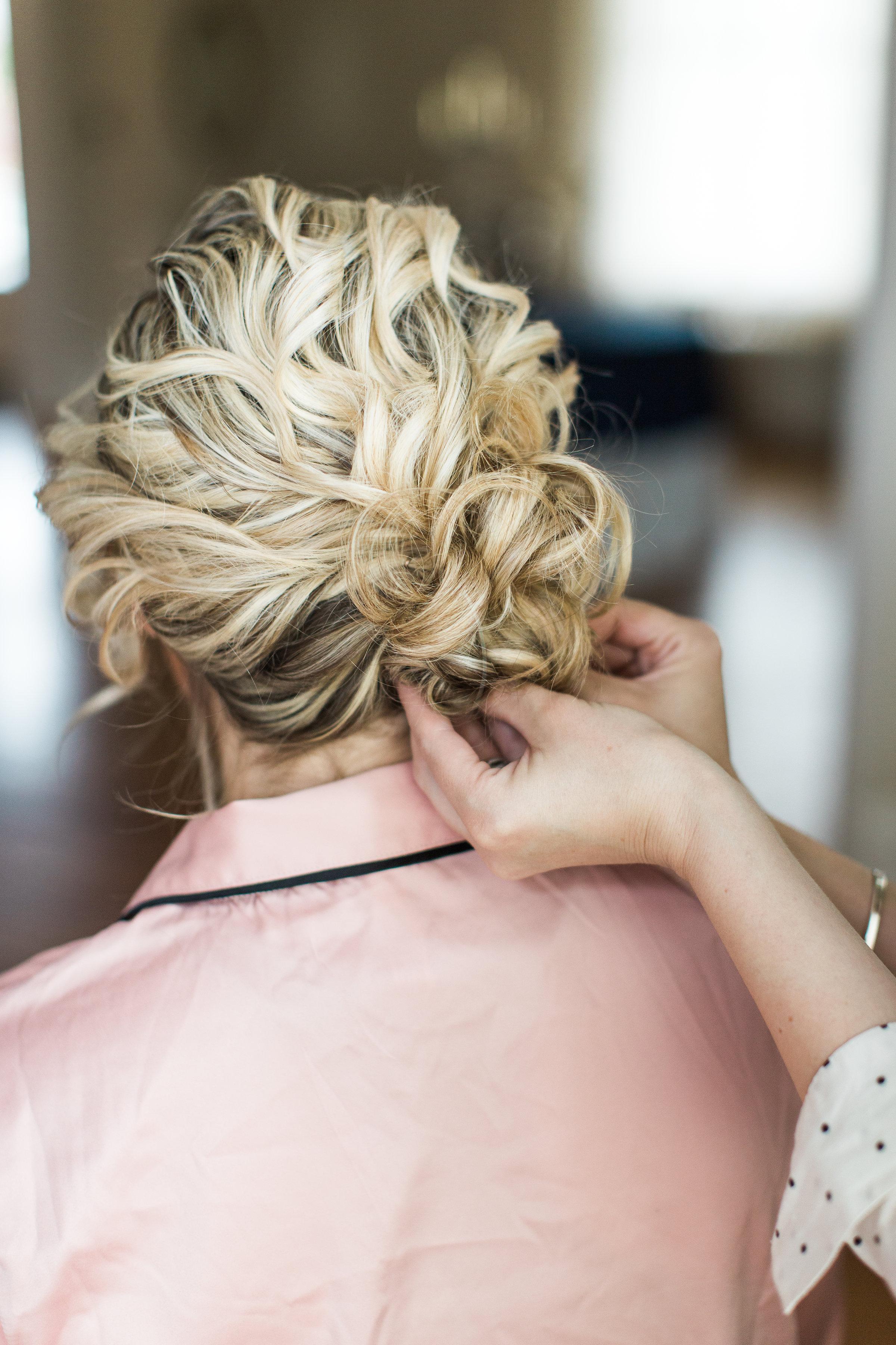 Hair by WINK Hair + Makeup