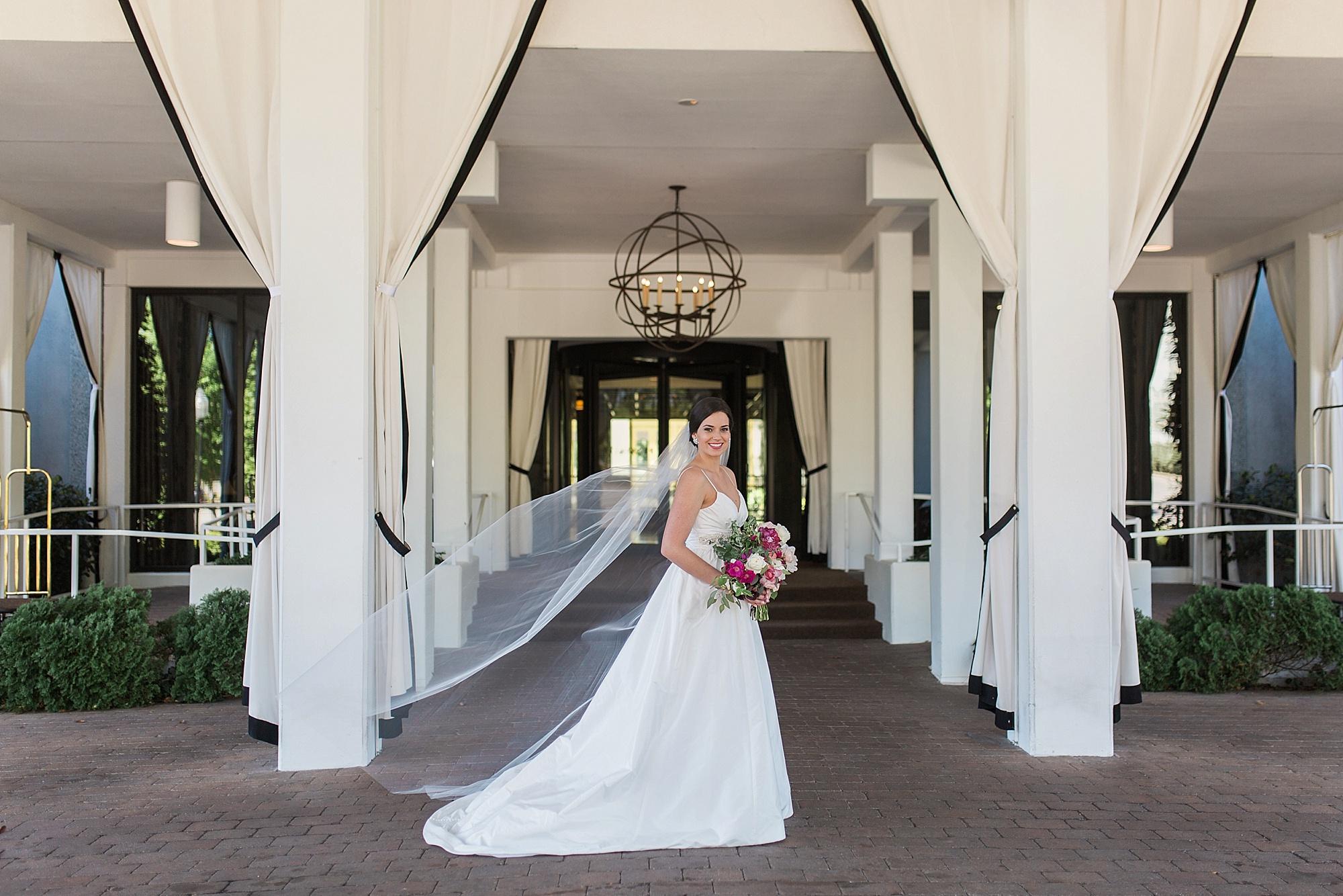 Greensboro NC Bridal Portraits
