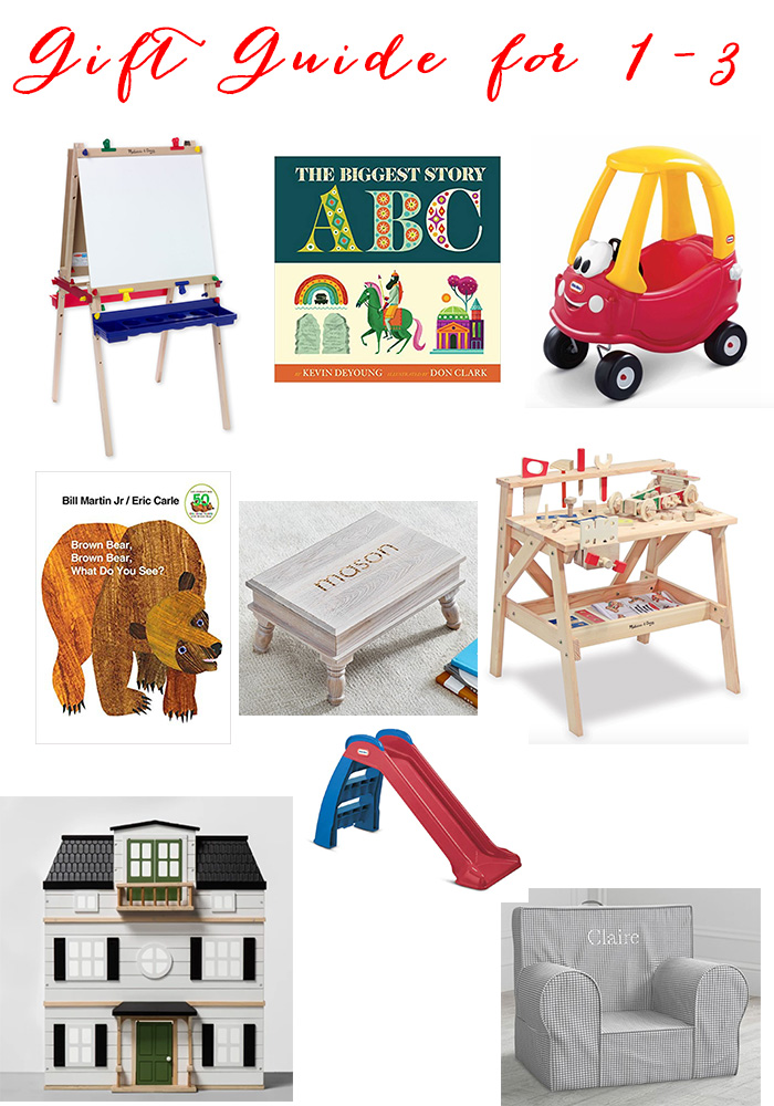 Gift Guide for 1-3 Year Olds