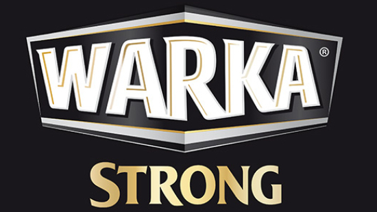 - Warka Strong / Strong Strong is a beer with increased alcohol volume and very specific, reach taste. It's the result of using two kinds of malt: light and dark.