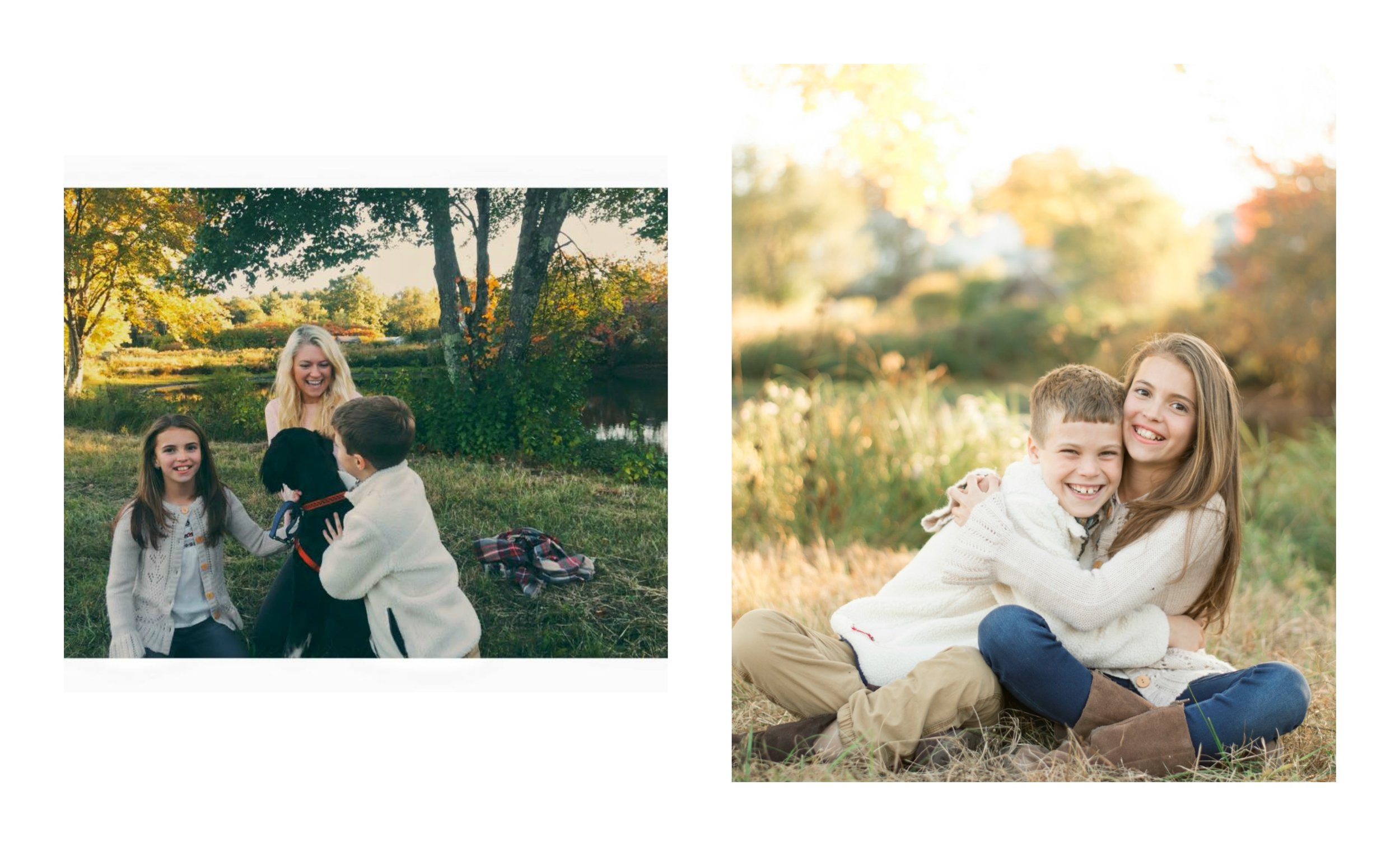 The Young family was my first family session of the year and this was my first time getting the chance to work with them!