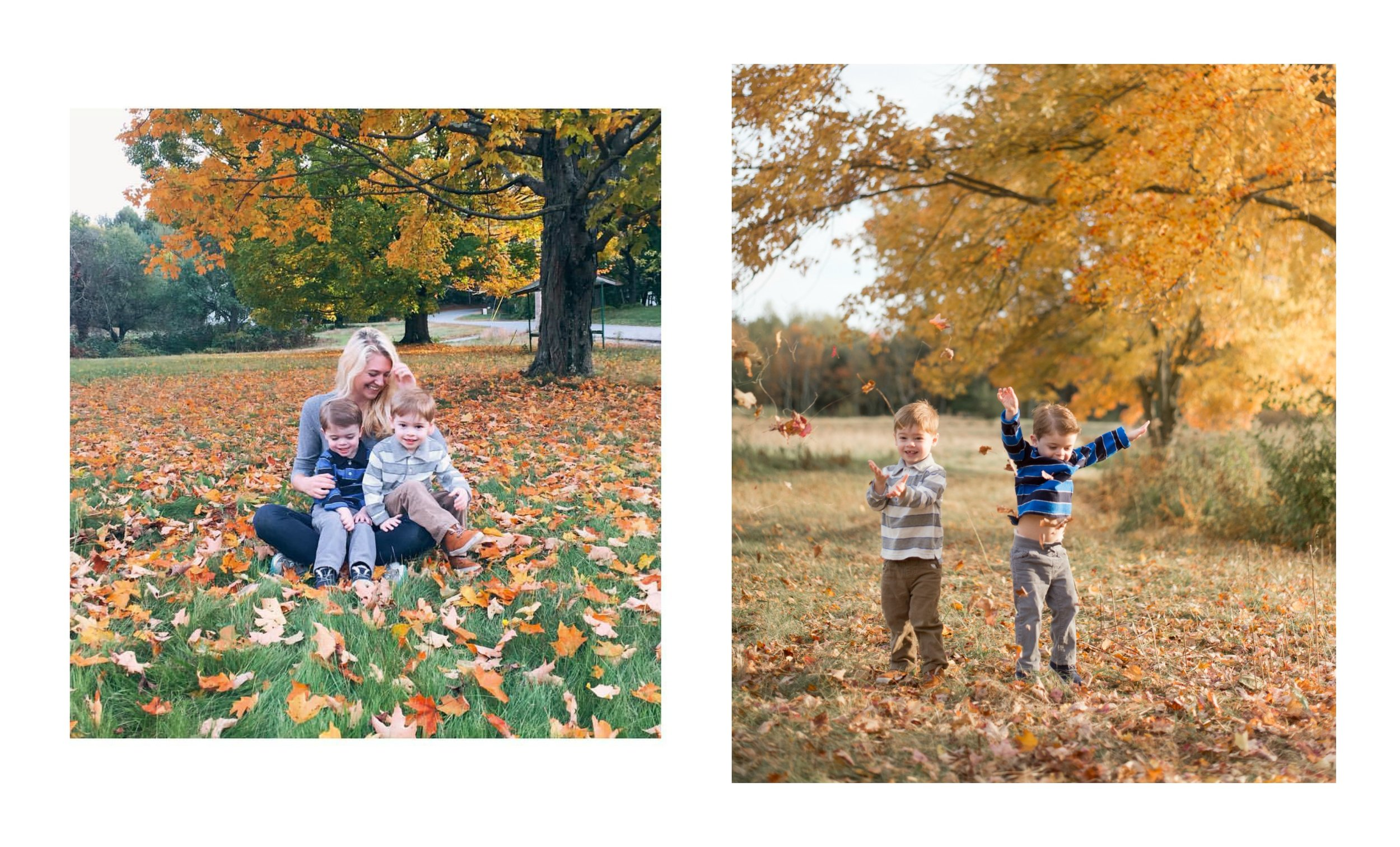 This was my first year meeting Mathew and Jonathan and I must say they were the two most adorable and well behaved boys I have ever had! We had a blast running around Pratt Farm and can't wait to do it again next fall!
