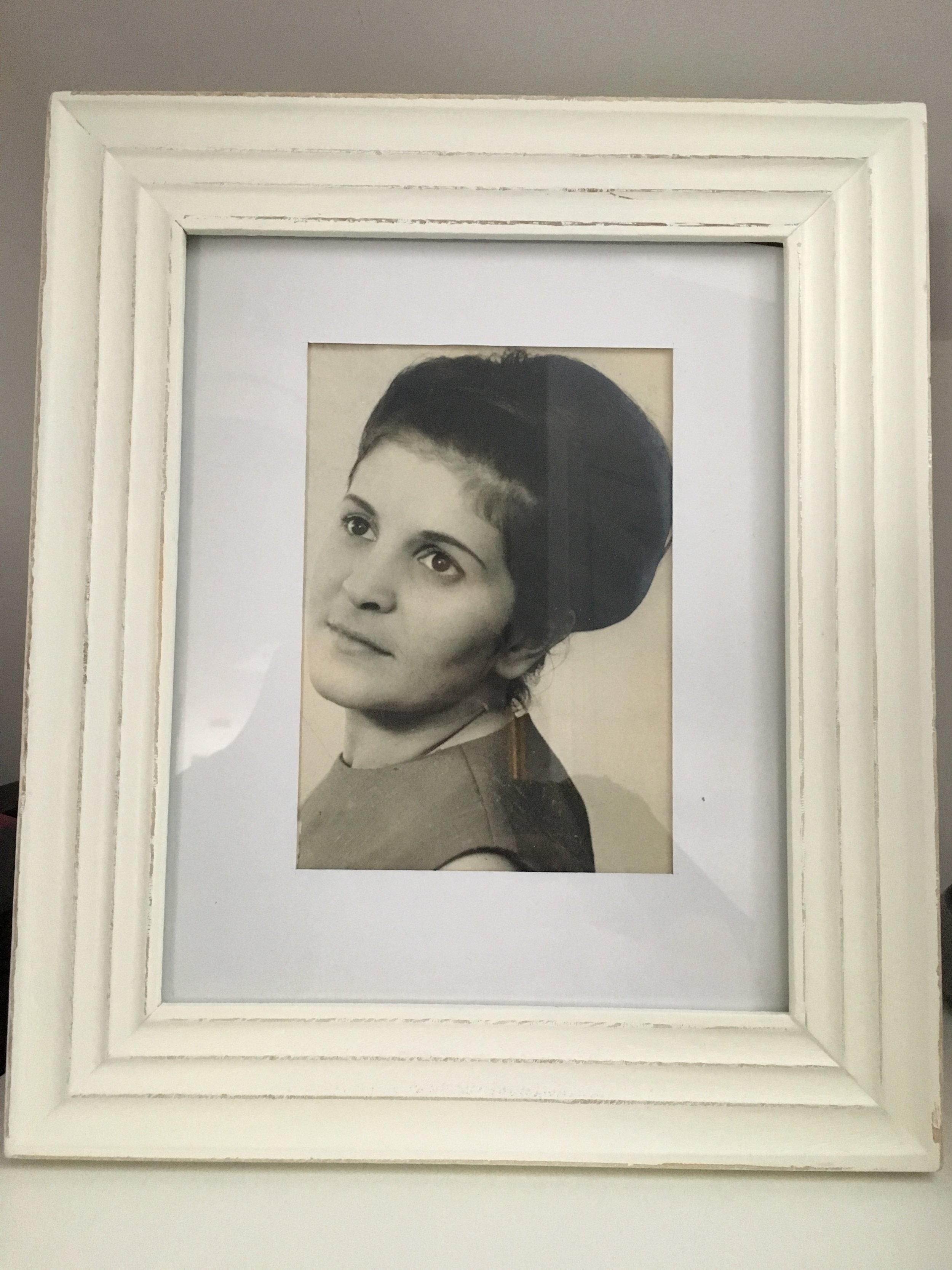 - My uncle was a professional photographer and produced some beautiful photos of my beloved mum, before I came along.