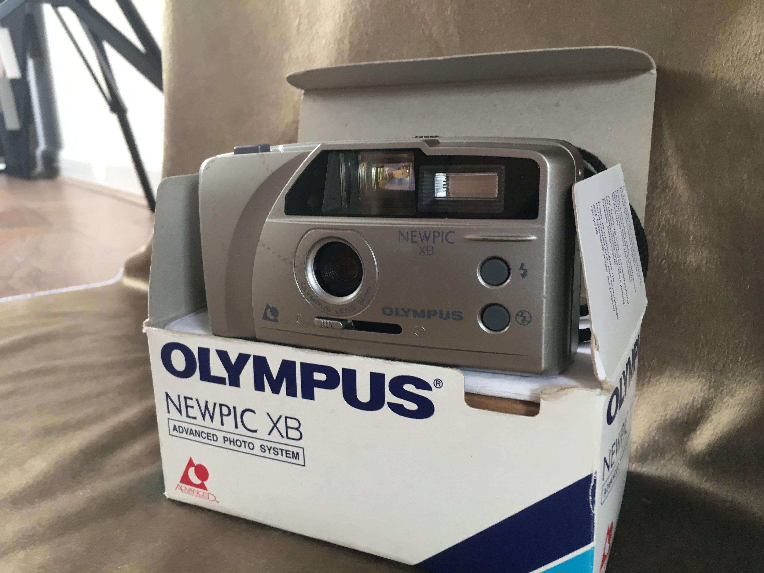Meet my camera. - Yes. Basic is an understatement!