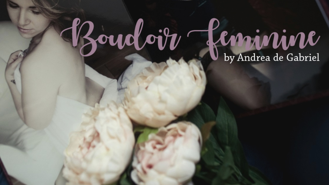 BOUDOIR THAT IS DEDICATED TO ELEVATING & EMPOWERING WOMEN! - I am very pleased to be offering Boudoir Portraiture, once again, from the end of October!