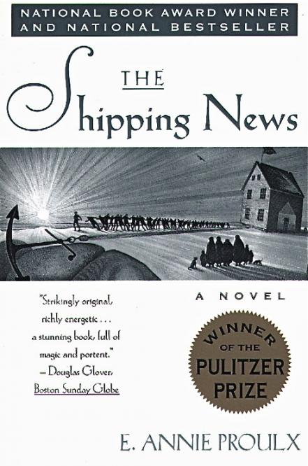 The Shipping News, 1993; photo courtesy Scribner
