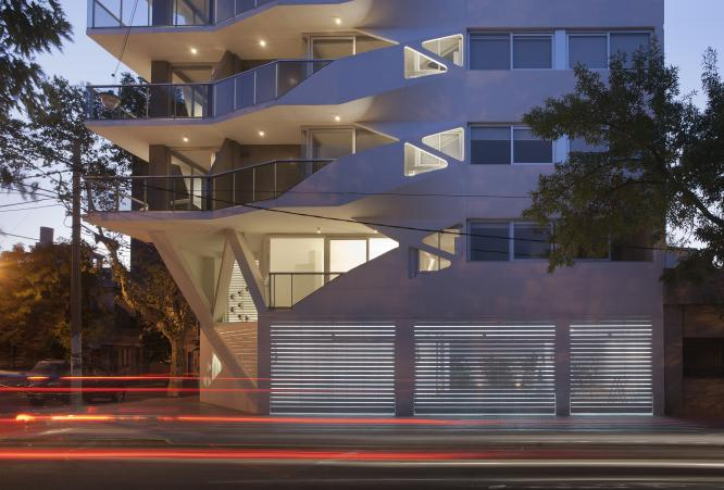 Jujuy Redux, Apartment Building, Rosario, Argentina, 2012; photo credit Gustavo Frittegotto and courtesy of P-A-T-T-E-R-N-S