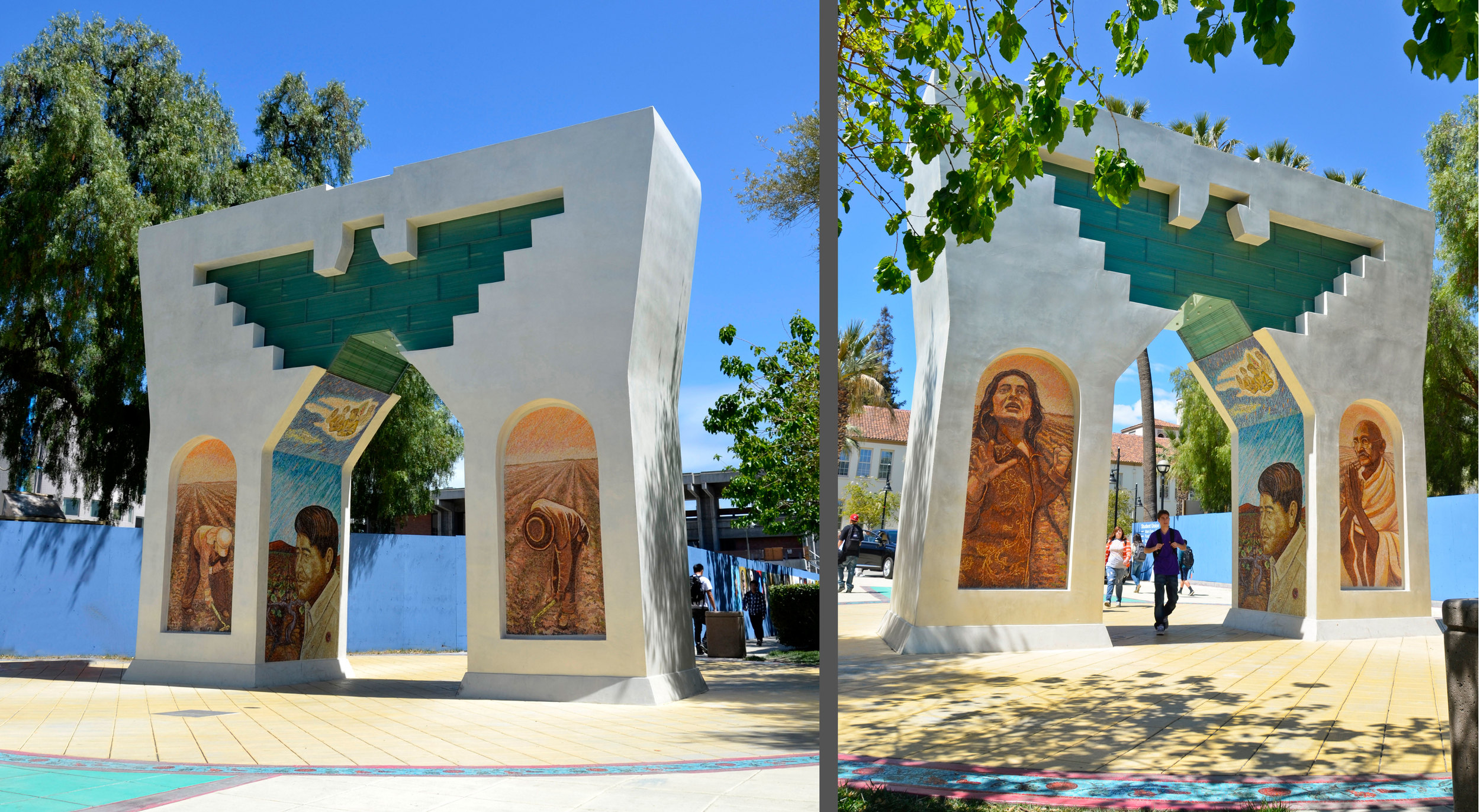 Arch of Dignity, Equality and Justice.