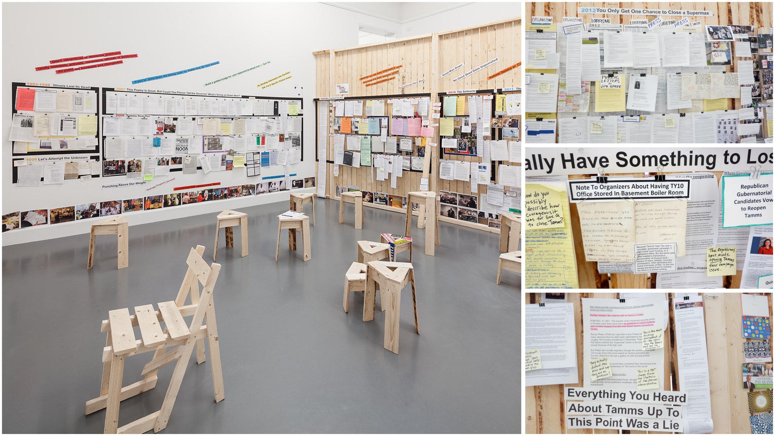 Installation, TY10 Timeline, 2014 (Van AbbeMuseum, Eindhoven, Netherlands). Photo courtesy of the artist.