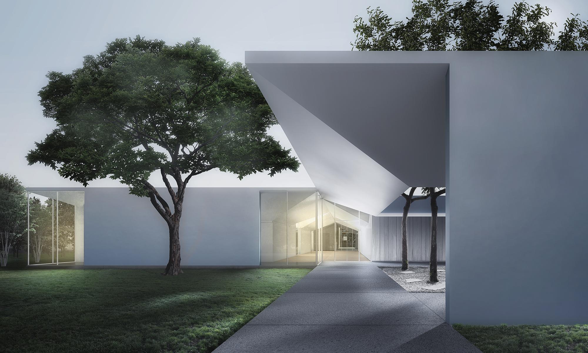 Menil Drawing Institute, Houston, Texas, 2014. Courtesy of Johnston Marklee