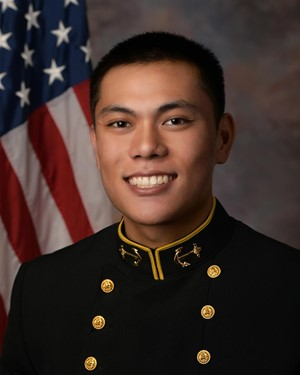 William Leong  Sage Hill USNA Class 2022  TS Vammen and El Toro Battalion