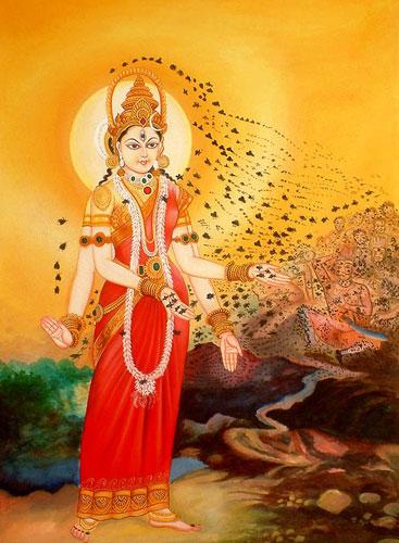 Brahmi, the Bee Goddess