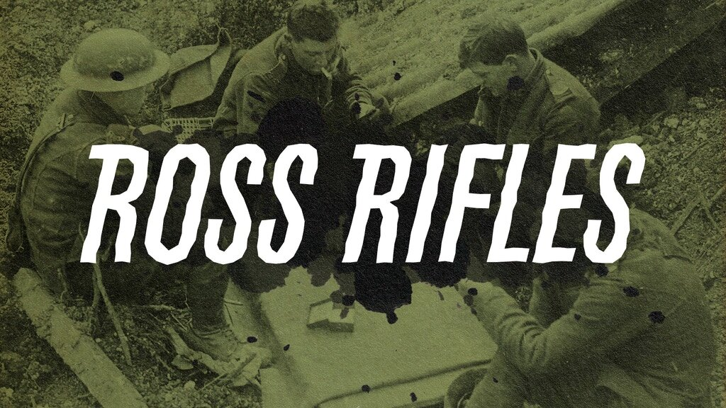 Ross Rifles is live on kickstarter right now!