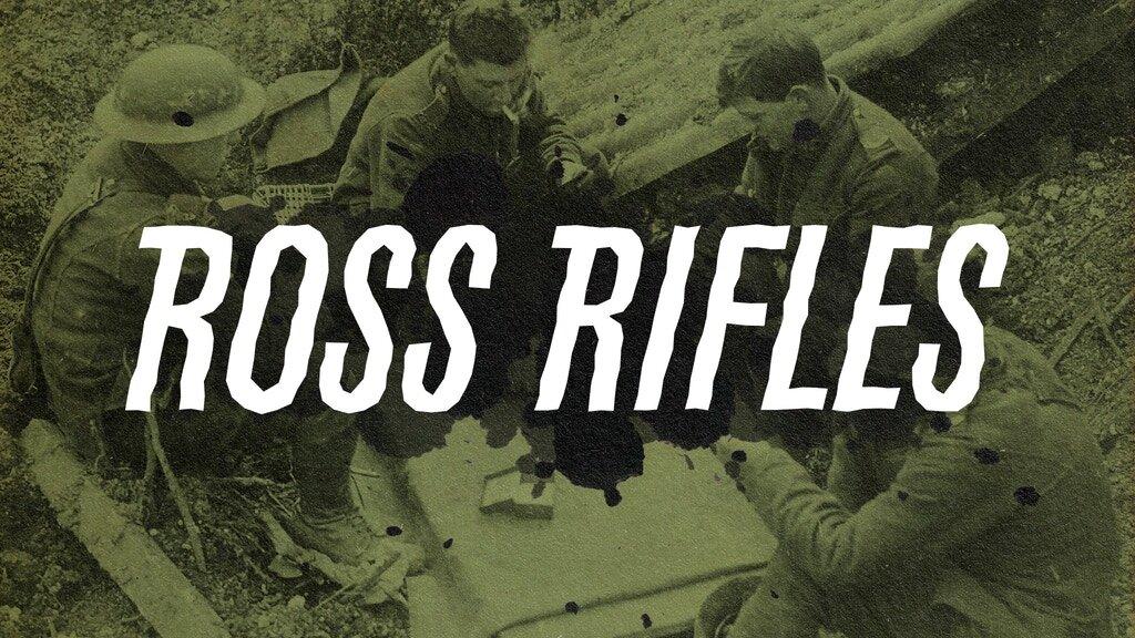 Ross Rifles is live on kickstarter right now!