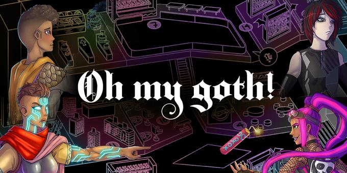 Visigoths vs Mall Goths is live on kickstarter right now!