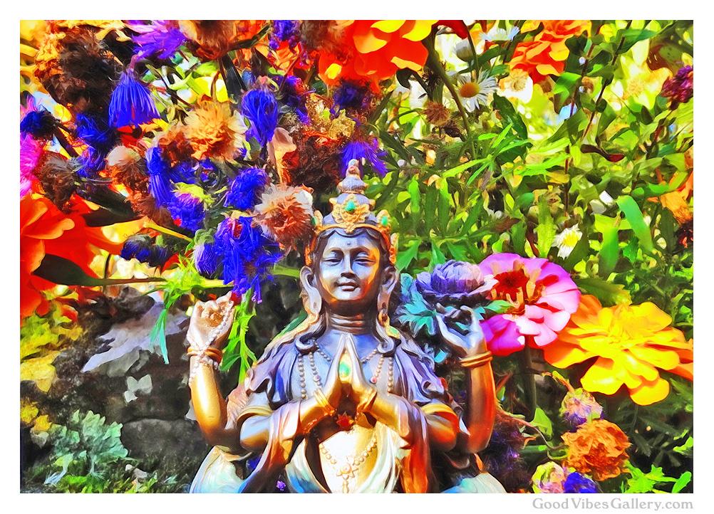 buddha-art-paintings-photos-statues-zen-garden-tao-art-nature-photography-fine-art-print-poster-buddhism-buddha-in-the-garden-radiate-goodness-good-vibes-gallery