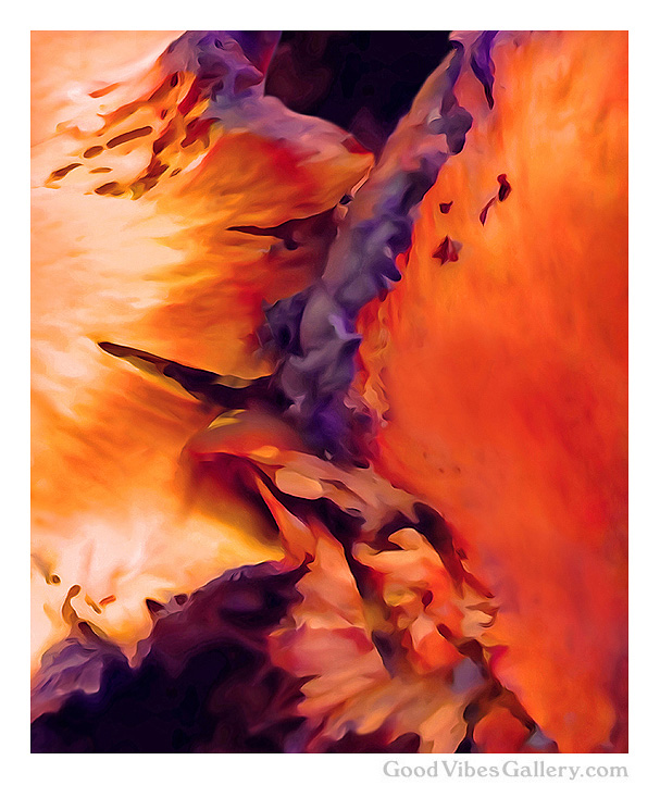 abstract-paintings-expressionism-fine-art-contemporary-painter-zen-tao-art-nature-one-last-caress-orange-goodvibesgallery-good-vibes-gallery